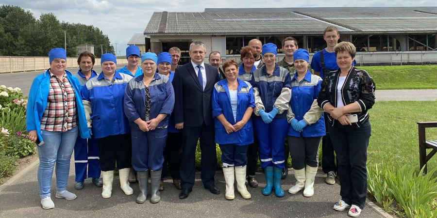 Министр сельского хозяйства РБ посетил Озерицкий-Агро