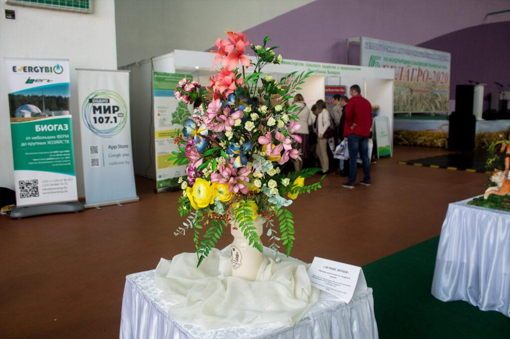 Фигуры из слоеного теста на Белагро-2020