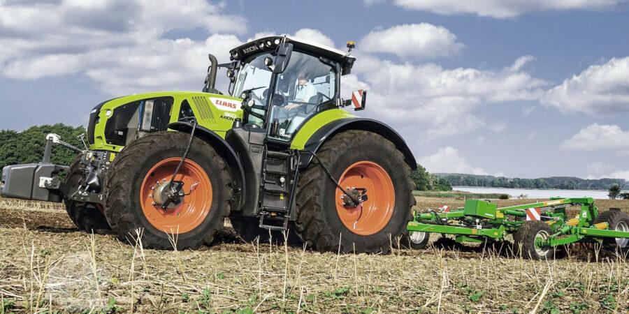 Трактор Claas - Новости сельского хозяйства Беларуси