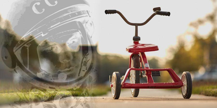 Трехколесный велосипед от Гагарина - Новости сельского хозяйства Беларуси