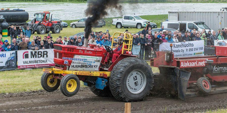 Гонки на тракторах - Новости сельского хозяйства